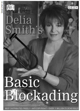 Delia Smith's Basic Blockading